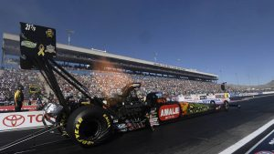 NHRA Toyota Nationals Results from Vegas, Updated Standings