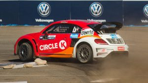 Scott Speed wins third consecutive Red Bull Global Rallycross championship