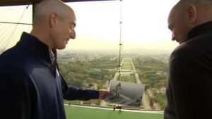 Ryder Cup captains emulate Arnold Palmer's Eiffel Tower shot