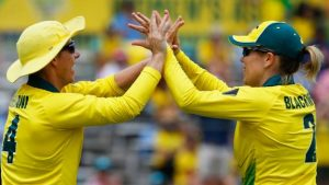 Women's Ashes: Australia beat England in opening ODI as Alex Blackwell stars