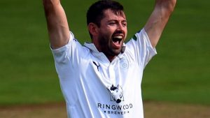 Hampshire: Ian Holland agrees new two-year contract with county