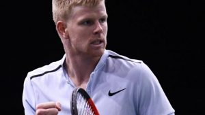 Paris Masters: Kyle Edmund beats Evgeny Donskoy to reach second round