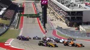Liberty Media has discussed three-wide starts for Formula 1
