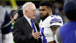 Jerry Jones: Zeke Elliott has done nothing wrong 'by any standard in this country'