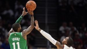 Report: Cavs pass on showing Kyrie Irving tribute video in season opener vs. Celtics