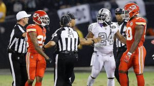 Even with feel-good win, Raiders have a Marshawn Lynch dilemma