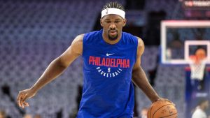 76ers' Embiid not cleared for back-to-backs