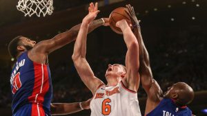 Porzingis getting used to being the Knicks' top option in clutch