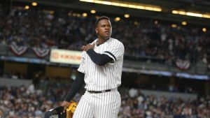 Yankees' Severino 'feels great,' wanted to stay in before early ALCS Game 2 exit