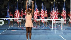Sloane Stephens' press conference outtakes
