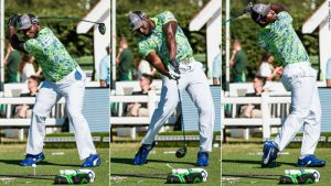 Meet golf's big hitter who's also long on personality
