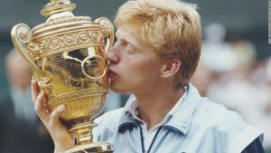 Tennis great Becker takes World Cup quiz