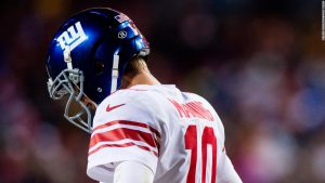 Is legendary QB Manning's benching an end of and era?