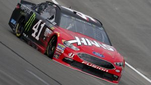 Kurt Busch flies to NASCAR pole in Texas with new track record lap