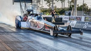 NHRA indefinitely suspends Larry Dixon over unapproved SEMA Dragster