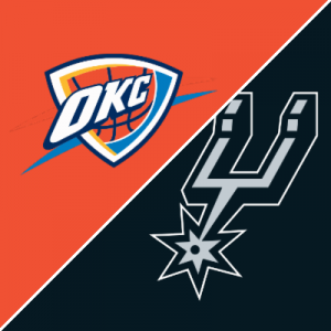 Follow live: Thunder bring winning streak to San Antonio