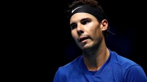 ATP Finals: Rafael Nadal ends season after defeat by David Goffin