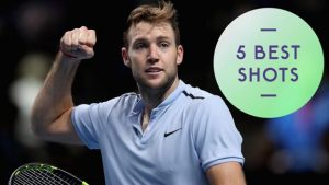 Watch: Five best shots as Sock beats Cilic