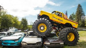 Showtime monster truck: Michigan man re-creates one of the coolest monsters of the '80s