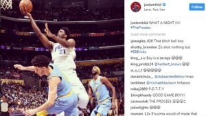 Sixers' Joel Embiid trolls LaVar, Lonzo Ball in Instagram post after 46-point game