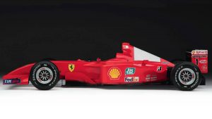 Ex-Michael Schumacher F1 car brings $7.5 million at auction