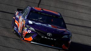 Denny Hamlin steals Homestead NASCAR pole from title contender Martin Truex Jr.