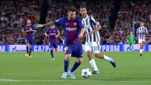 Barcelona goal highlights: Messi produces mind-boggling assist while falling down