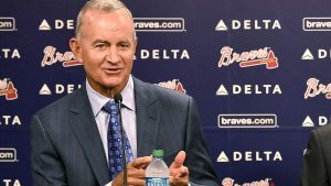 Hart steps down as Braves await MLB ruling