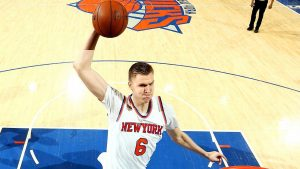 Porzingis: Record 'means nothing' if no playoffs