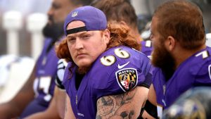 Ravens' Jensen: No issues with Packers' Clark