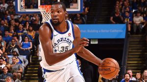 Durant out vs. Wolves with thigh contusion