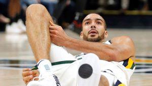 Bone bruise sidelines Jazz's Gobert for 4 weeks