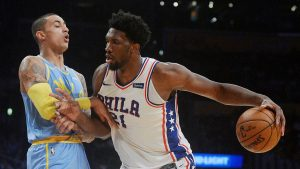 Night of young stars as Joel Embiid's monster night tops Lakers