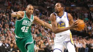 Warriors irked with late-game calls vs. Celtics