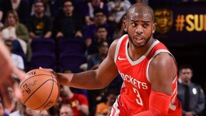 Paul's return sparks Rockets to 90-point half