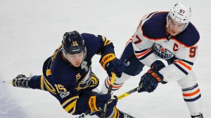 McDavid, Oilers stumped after loss to Eichel-led Sabres