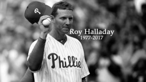 Friends, family and MLB teammates celebrated Roy Halladay's life