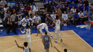 WATCH: Fort Wayne player tries drawing foul on Kentucky coach John Calipari