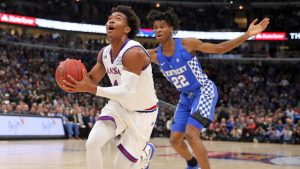 Champions Classic: No. 4 Kansas ekes out a win over a fun but raw Kentucky team