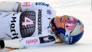 Injured Vonn pulls out of St. Moritz race