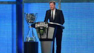 Dale Earnhardt Jr. wins 15th straight NASCAR Most Popular Driver Award