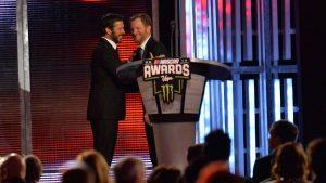 NASCAR community crowns champion Martin Truex Jr.; honors retiring Dale Earnhardt Jr.