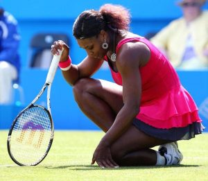 Serena asks for fans' help on baby teething