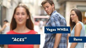 LOOK: Las Vegas has a WNBA team, and one minor-league baseball club isn't thrilled