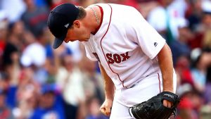Red Sox P Wright arrested for domestic assault