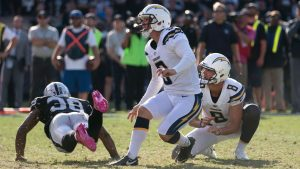 Chargers sign kicker Coons, place Novak on IR