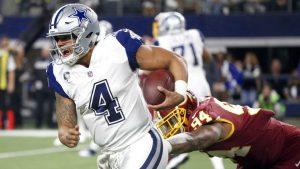 Cowboys QB Prescott: Hand bruise not an issue