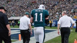 Sorting the Sunday Pile, Week 14: Wentz injury opens up NFC playoff, MVP races