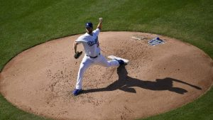 Clayton Kershaw allows one run in return from biceps injury, but now his back is acting up