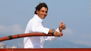 Rafael Nadal's secret weapon? The sea